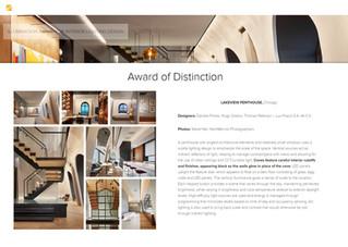 Illuminating Engineering Society | Award of Distinction