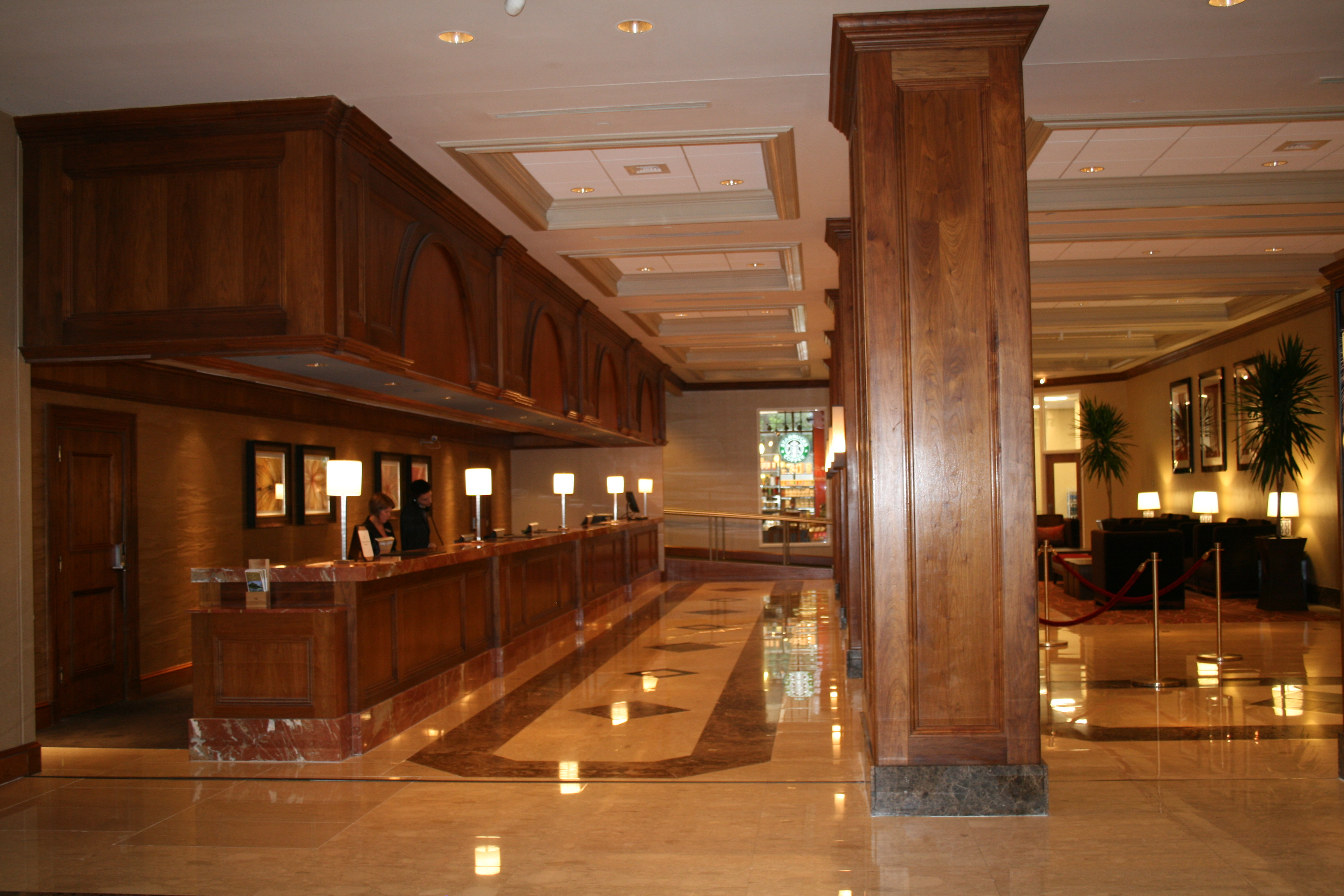 New Lobby and Front Desk