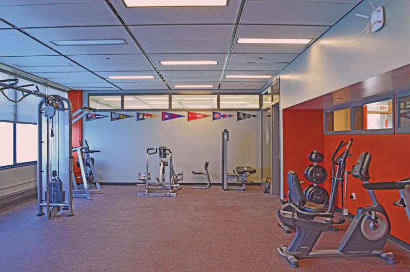 Student Athletic Workout Room