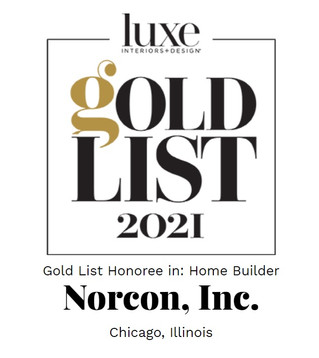 Norcon Honored with Luxe Interiors + Design Gold List 2021