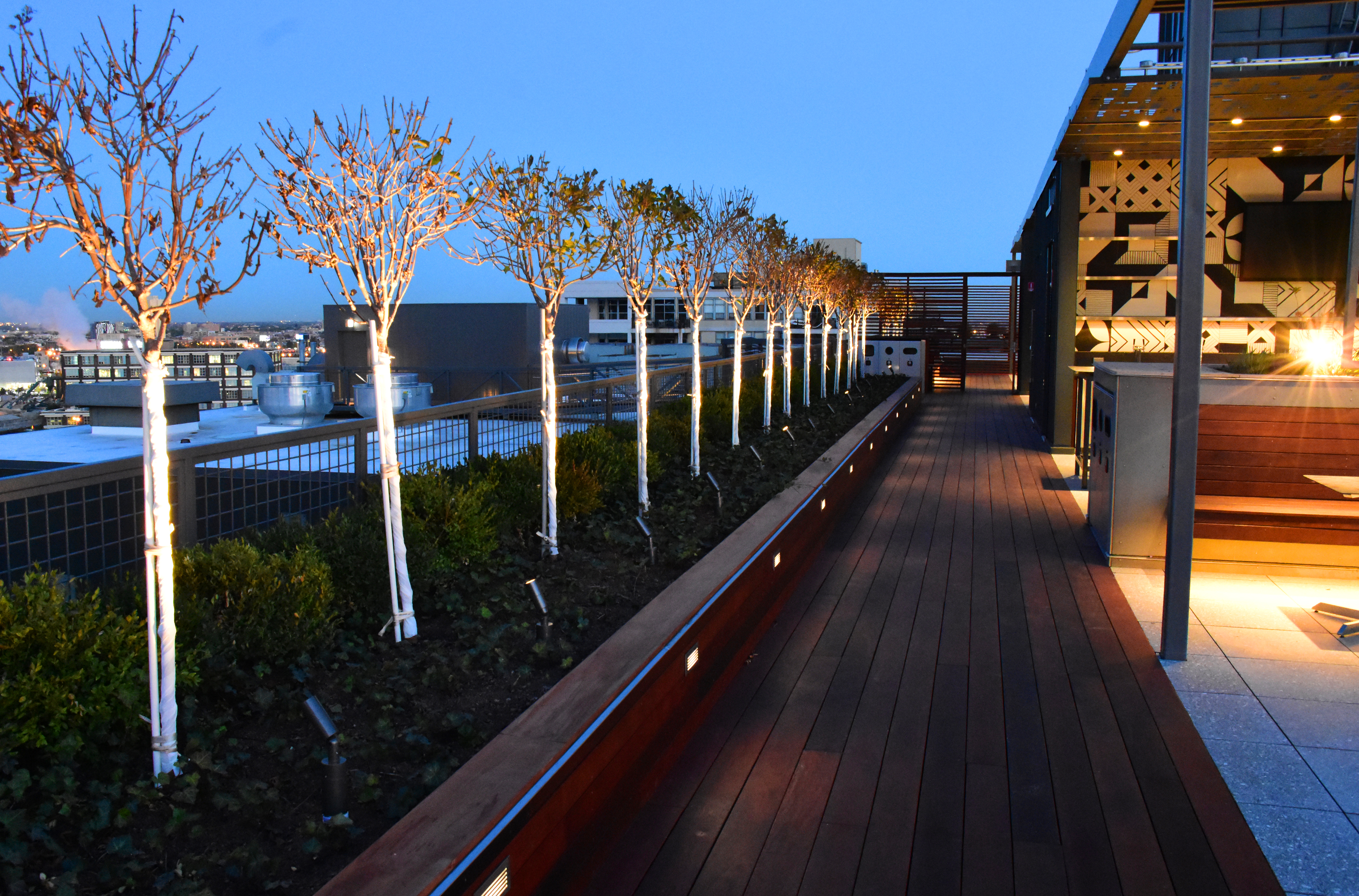 Ipe Decking and Landscaping