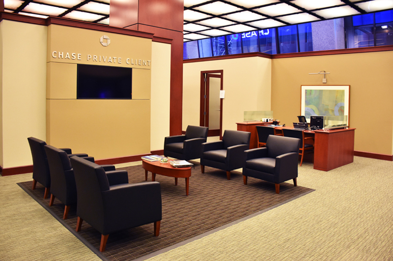 Chase Private Client Welcome Area