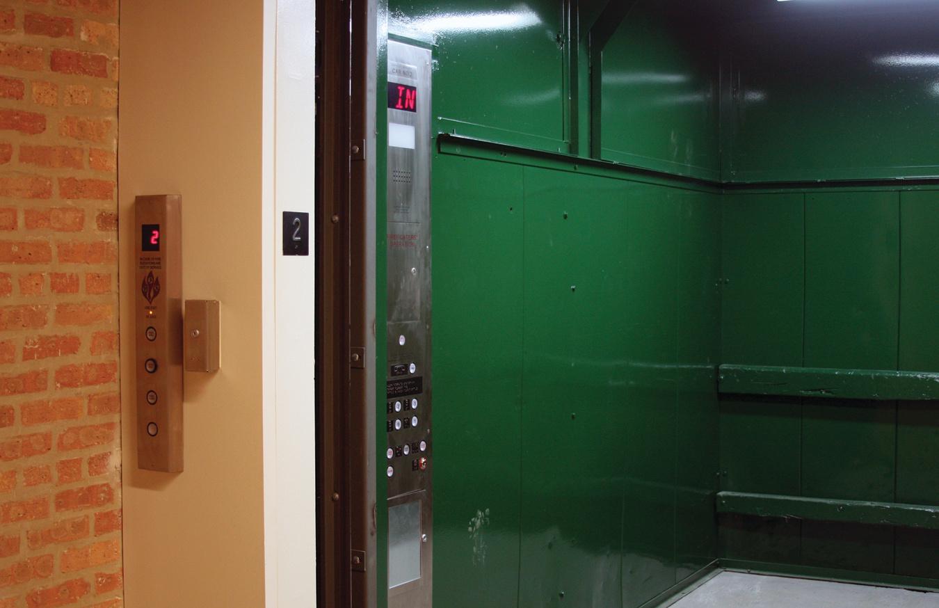 Rehabbed Freight Elevator