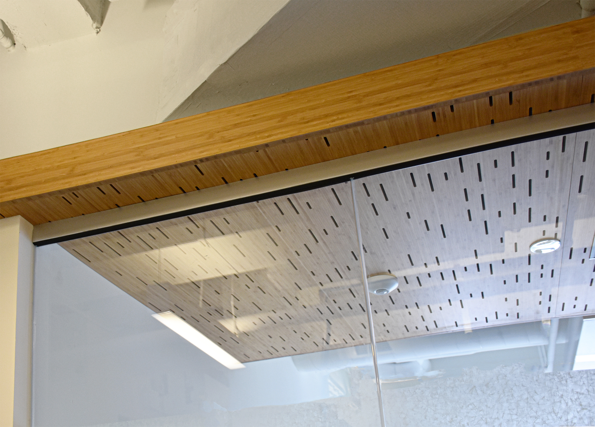 15th Floor Wood Details