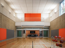 Basketball Court and Recreation Room