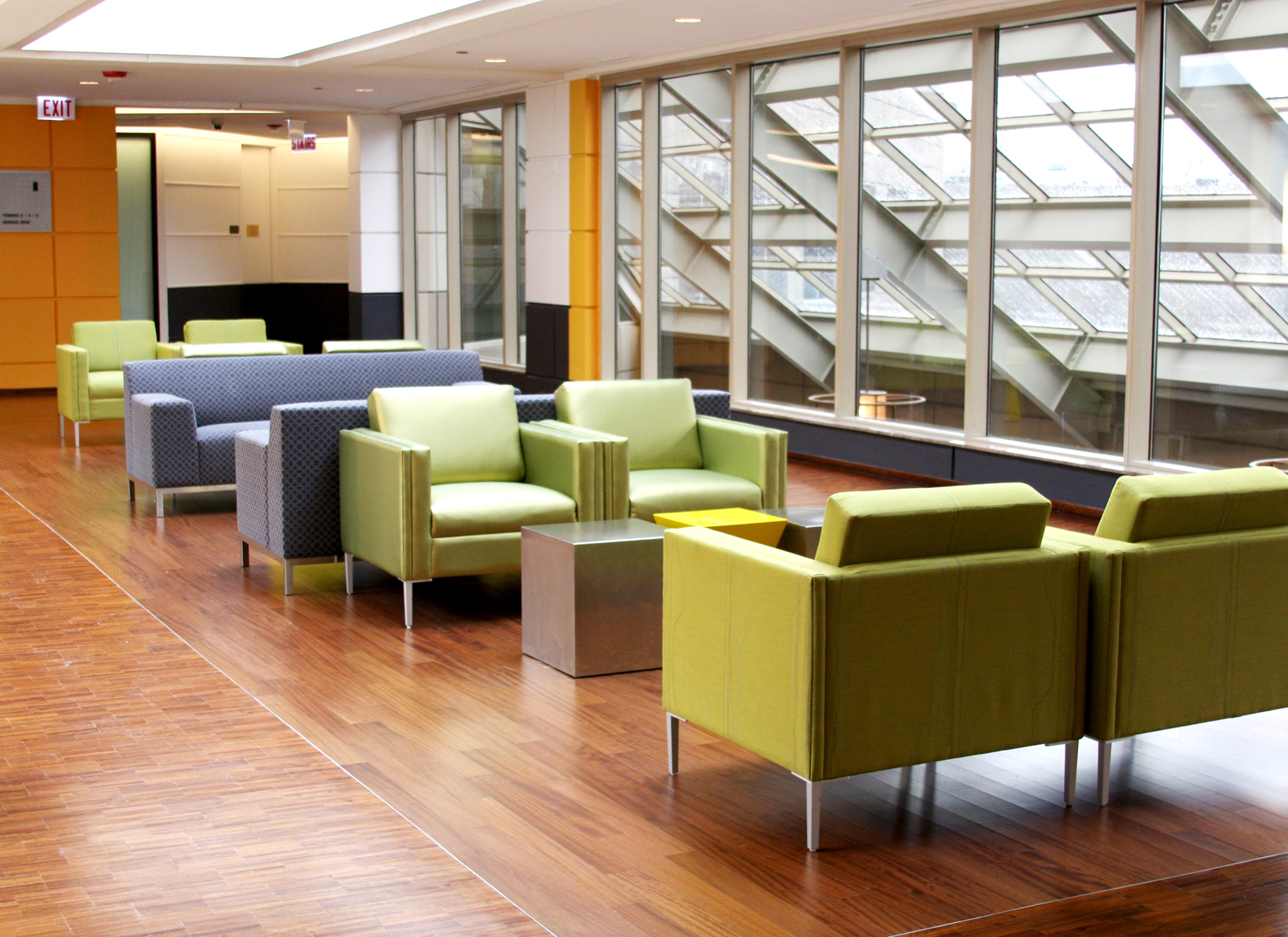 Lounge Area in Skywalk