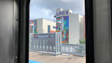 "Muralist Sam Kirk Installs, ""Building Brighter and Better Futures"" at LPCS"