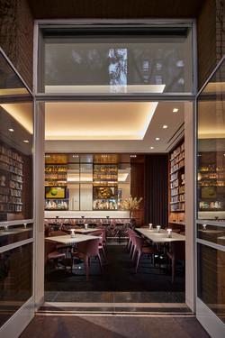 Entryway into Bar