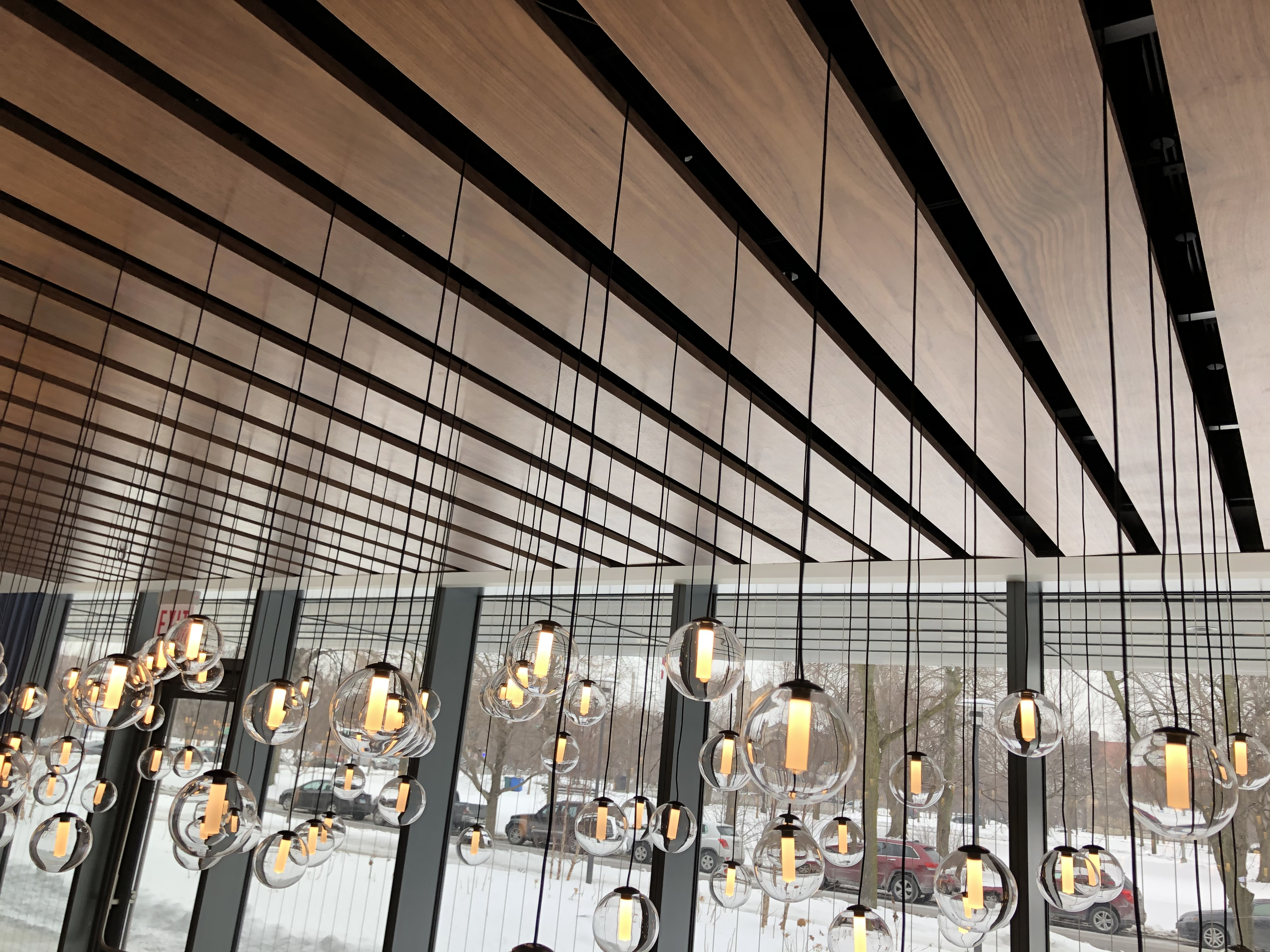 Wood Ceiling Detail