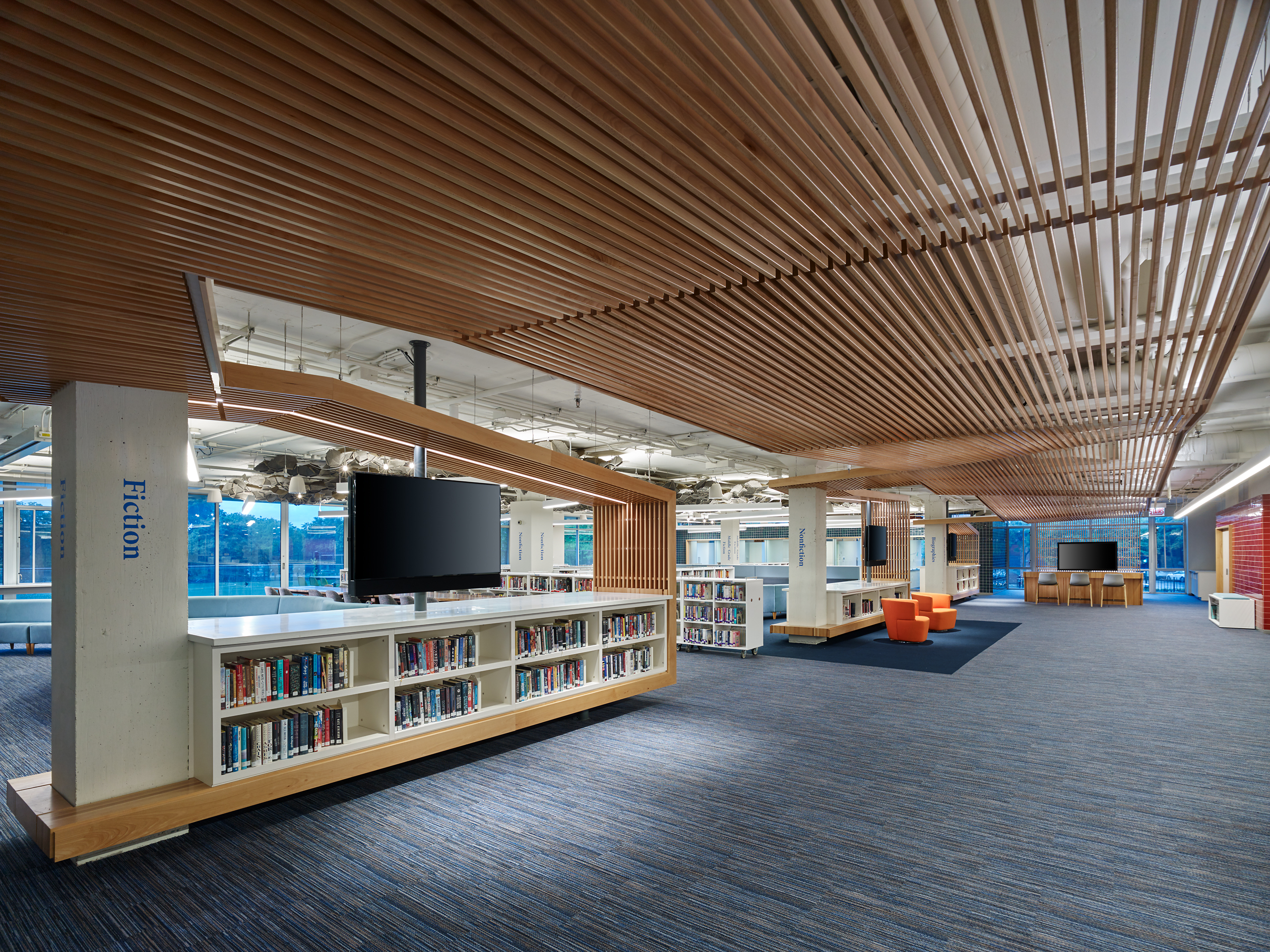 Undulating Ceiling