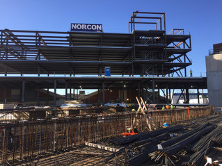 "NORCON CELEBRATES ""TOPPING OUT"" AT MIDTOWN ATHLETIC CLUB"