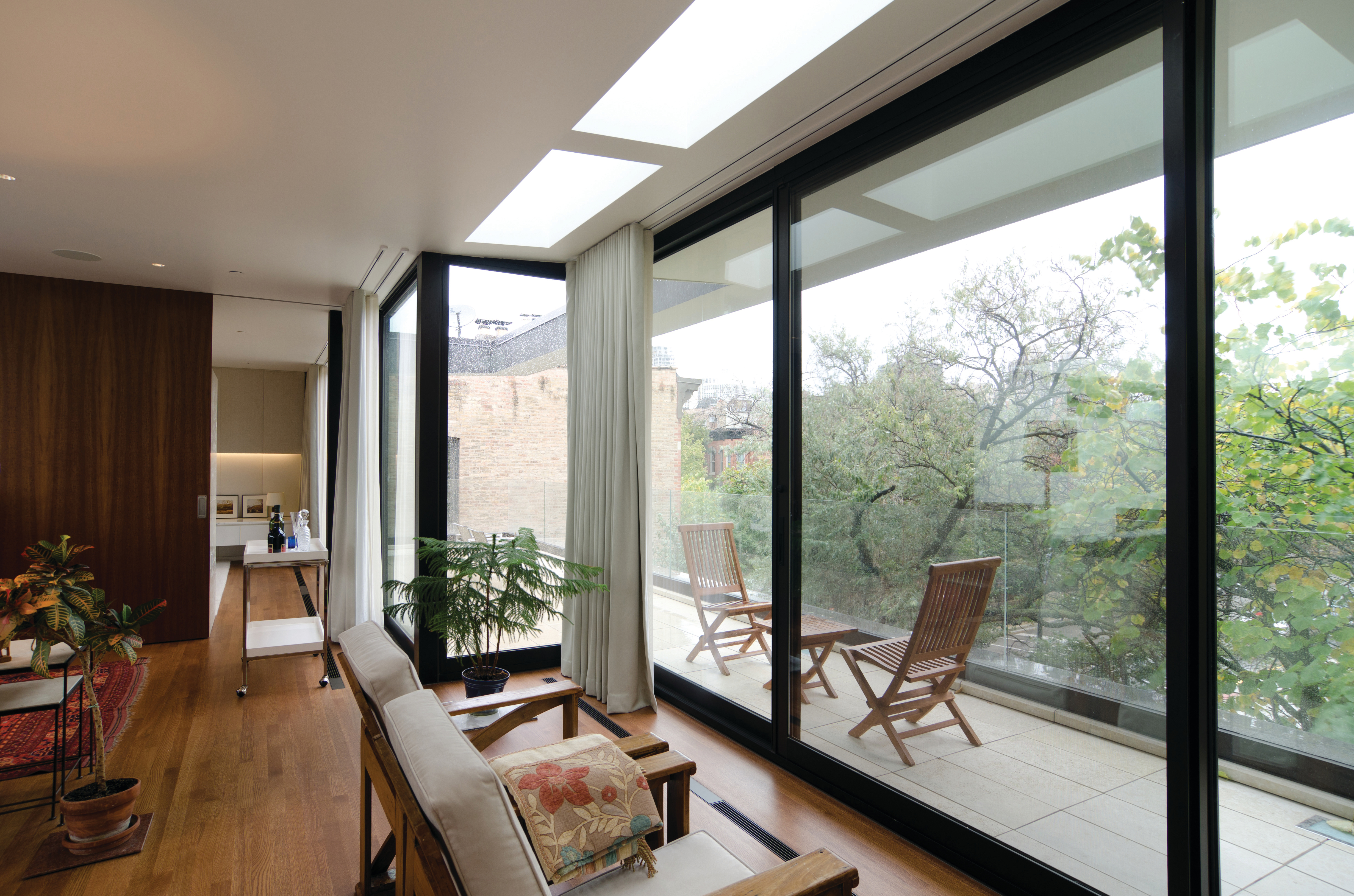 Master Suite and Roof Terrace