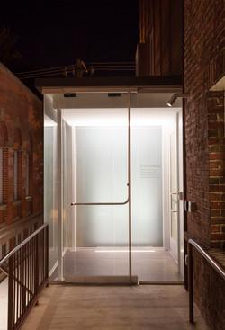 Glass Vestibule Entrance