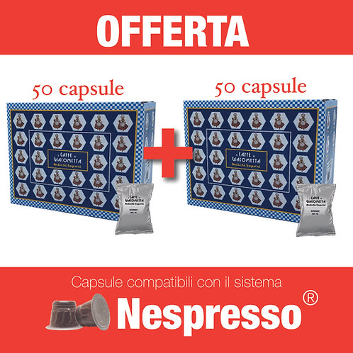 100 pz Giacometta - INTENSO
