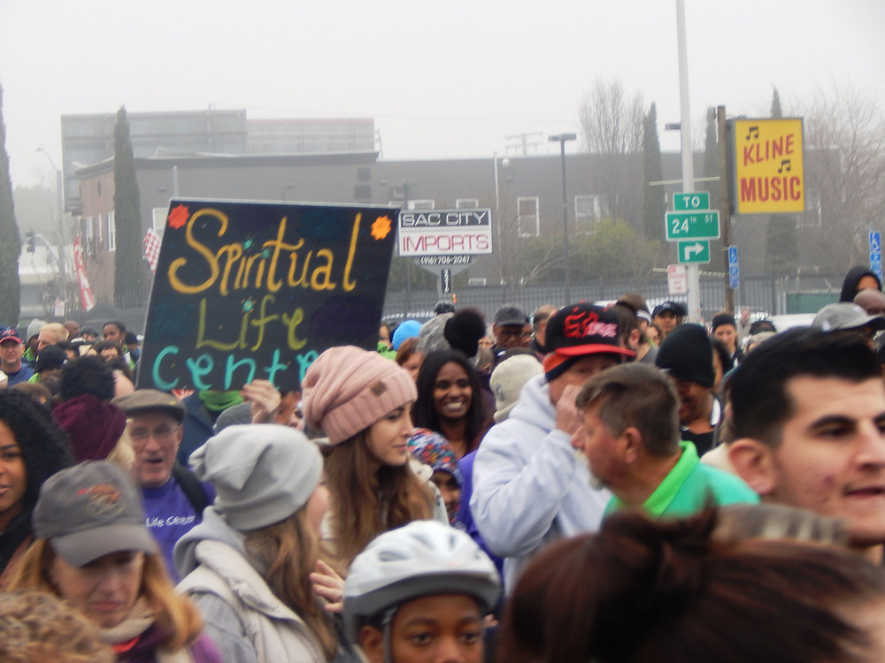 Spiritual Life Center at MLK365 March for the Dream