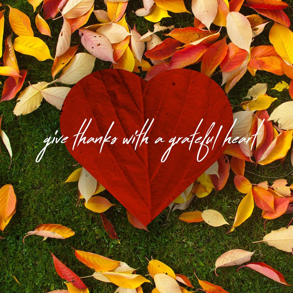 thanks with a grateful heart