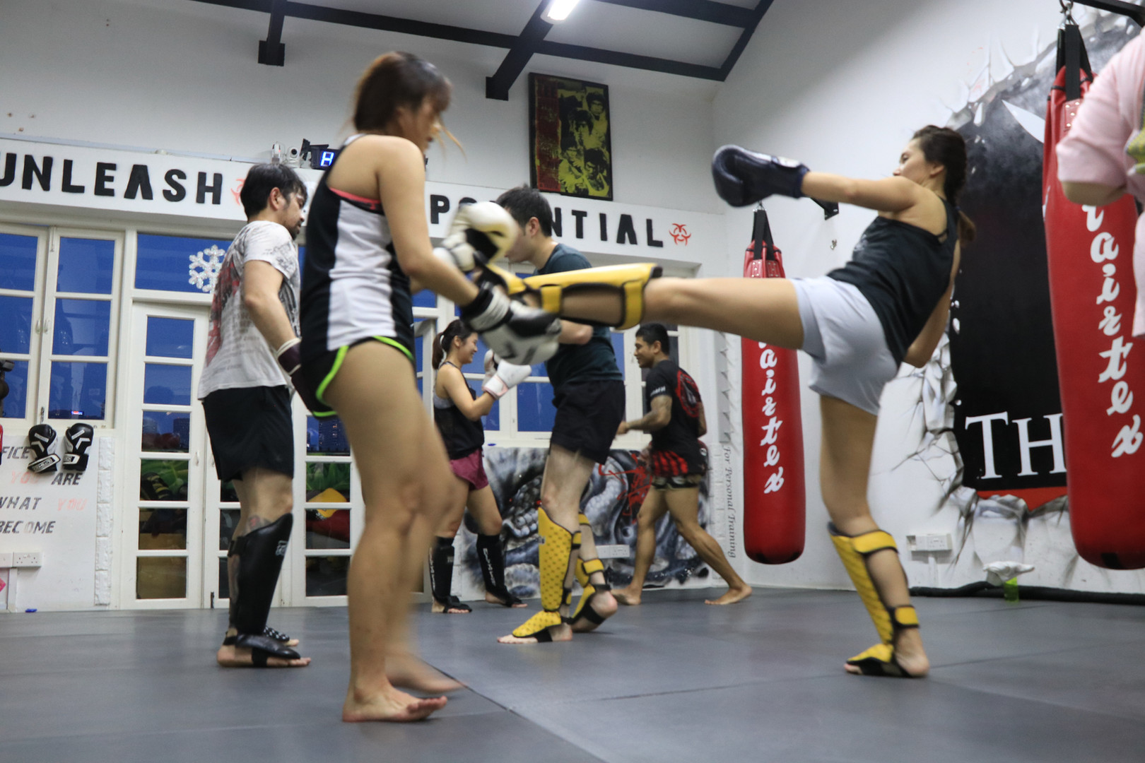Group Muay Thai classes