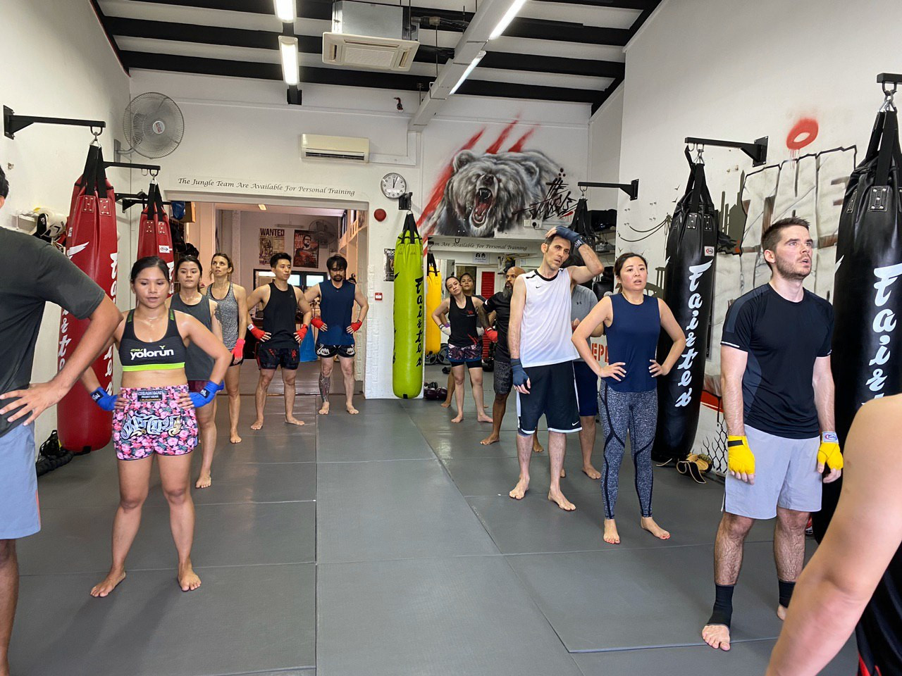 Muay Thai classes at The Jungle