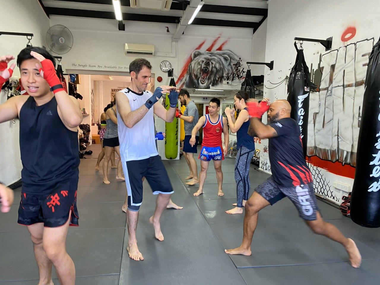 Best Muay Thai classes in Singapore