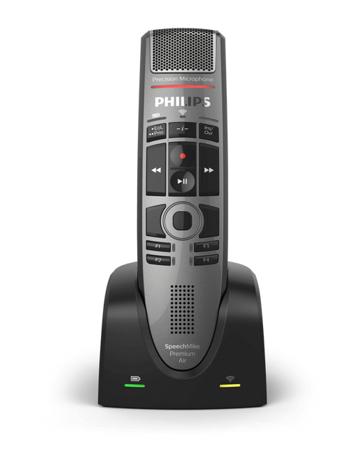 Philips SpeechMike Premium Air Wireless Dictation Microphone