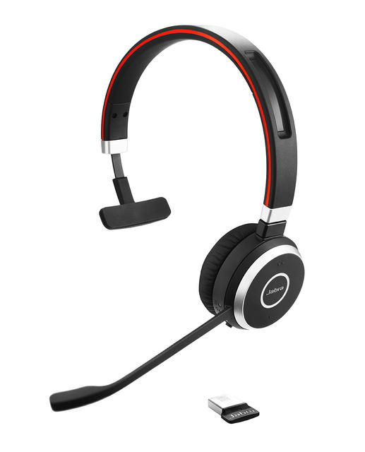 Jabra Evolve 65 Mono Bluetooth Wireless Headset