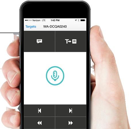 Nuance PowerMic Mobile App
