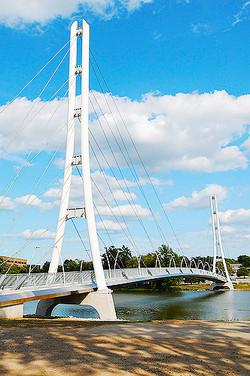 IPFW Ron Venderly Family Bridge