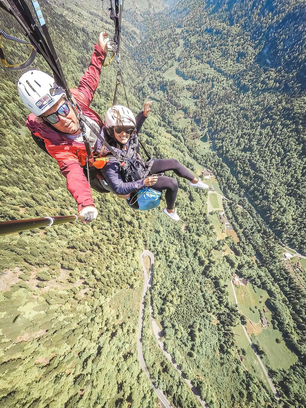 Paragliding Interlaken Switzerland