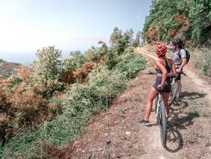 Exploring Cinque Terre by Bike!