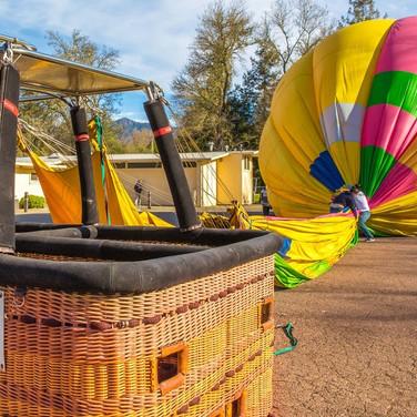 Calistoga Hot Air Balloon