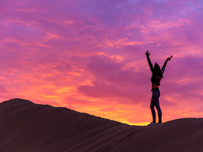 Huacachina - a sand-boarding oasis (especially by sunset!)