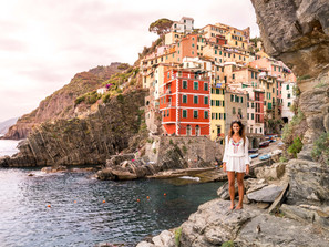 Cinque Terre - the five villages of beauty and picturesque coastline!