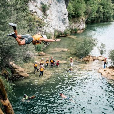 Ciff Jumping & Kayaking in Croa