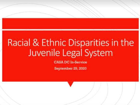 Exploring Racial Disparities Among African American and Latinx  Youth in the Juvenile Legal System