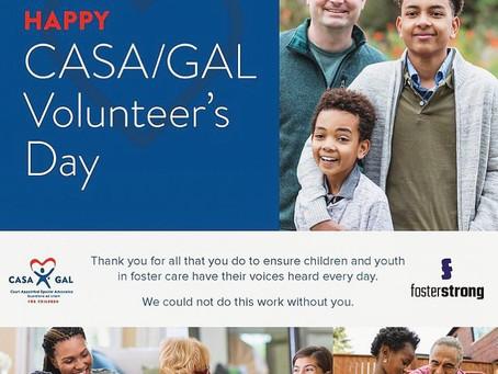 Happy CASA/GAL Volunteer Day!!