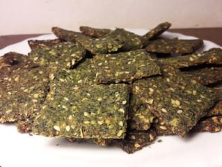 Crackers aux feuilles de tilleul et aux racines d'asphodèle