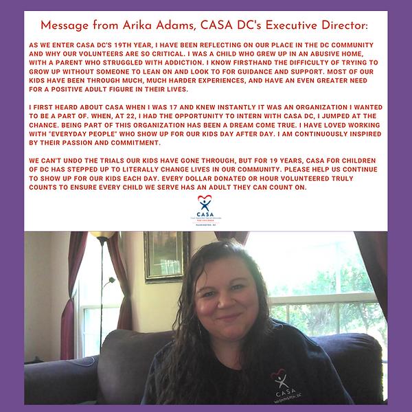 CASA DC's January In-Service Training (1