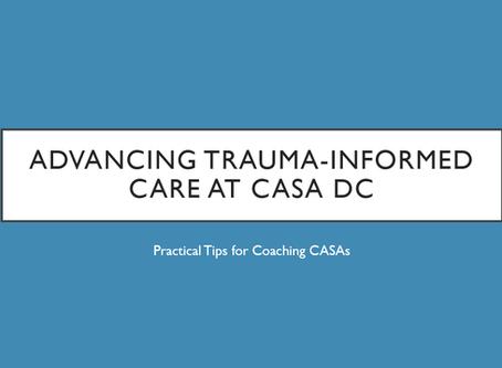 Advancing Trauma-Informed Care at CASA DC