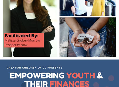 Empowering Youth & their Finances (July In-Service recap)