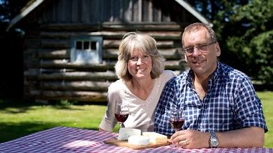 Clarke and Nancy Little Qualicum Cheesew