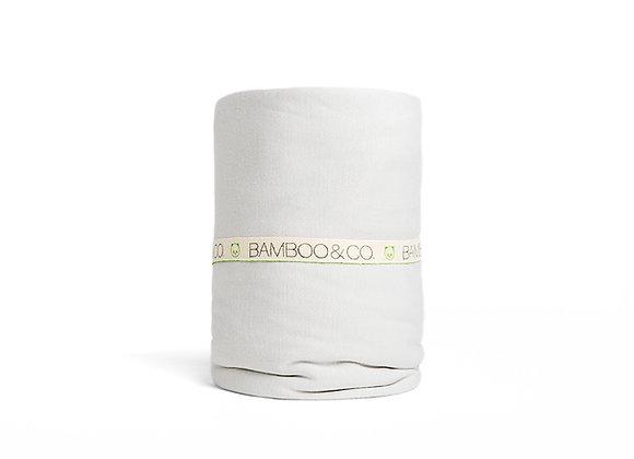 180- סדין זוגי 100% במבוק אורגני