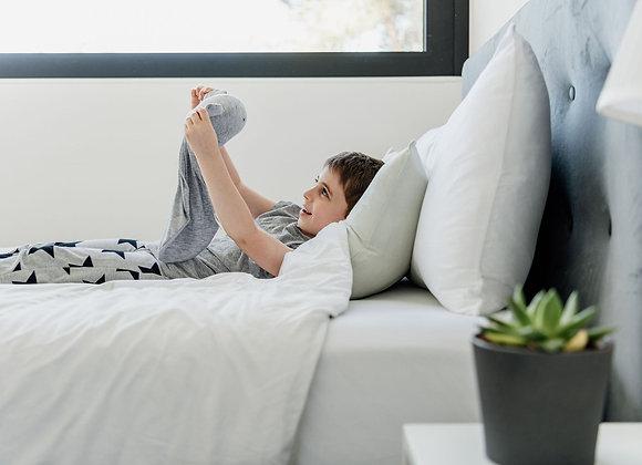 סט קיץ לילדים כולל שמיכת מילוי , ציפית וסדין