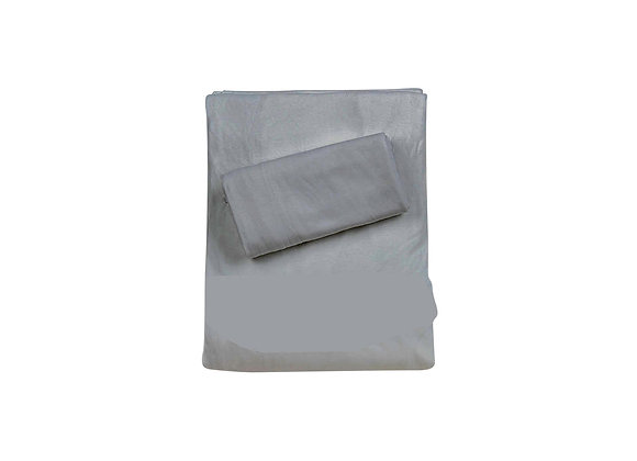סט למיטת יחיד - כולל ציפית וציפה, 100% במבוק אורגני