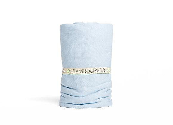 סדין למיטת יחיד/ מיטה מתכווננת- 100% במבוק אורגני