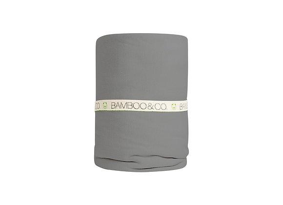 160- סדין זוגי 100% במבוק אורגני
