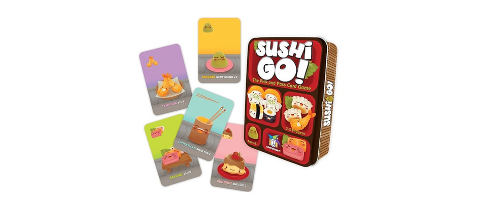 Sushi Go! - The Pick & Pass Card Came