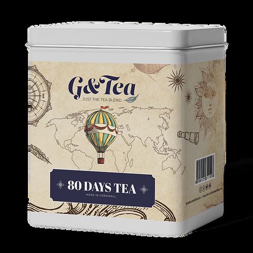80 Days Tea Tin