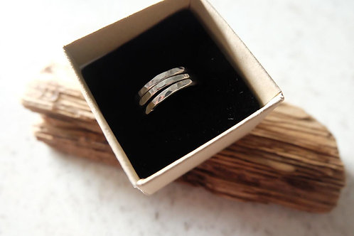 Stacked Silver Ring
