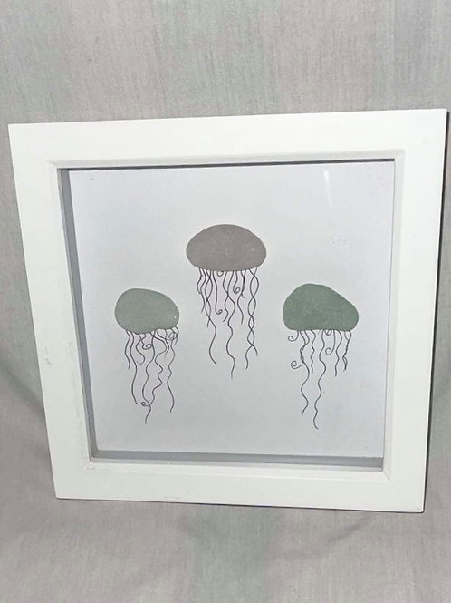 Small Pebble Jellyfish Print