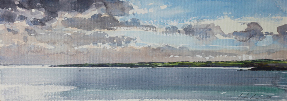 Over to the Helford from Falmouth *SOLD*